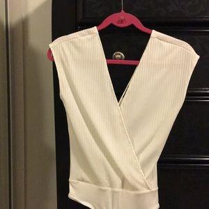 Zara white bodysuit